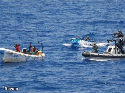 Somalische piraten via Nederland naar Duitsland