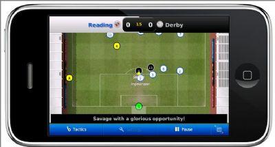 'Football Manager' naar de iPhone