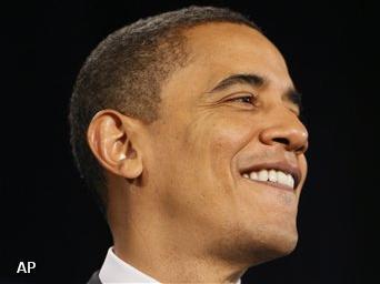 Obama verdient 5,5 miljoen in 2009