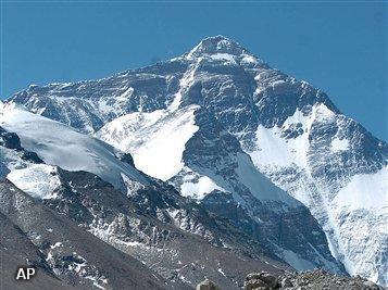 Sherpa's gaan Mount Everest opruimen