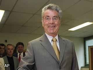 President Oostenrijk wint verkiezingen