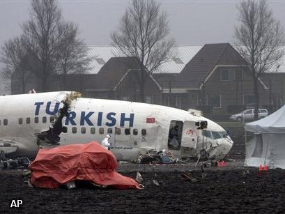Piloten maakten slechte doorstart