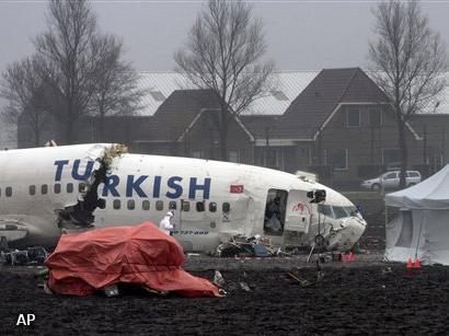 Presentatie onderzoek crash Turkish Airlines