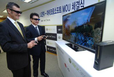 Microsoft in zee met LG voor 3D