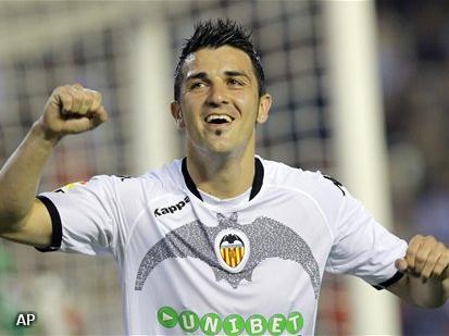 Barcelona onderhandelt met Valencia over Villa