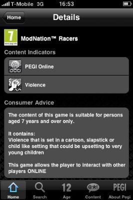 Pegi komt met eigen iPhone-app