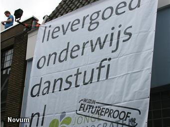 D66-jongeren bezetten kantoor studentenvakbond