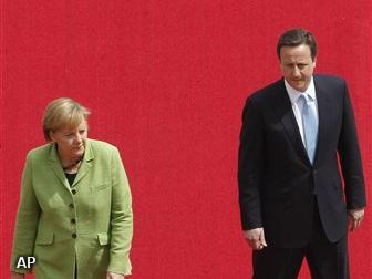 Merkel tegen Cameron: Waar een wil is is een weg