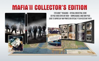 2K Games onthult speciale editie 'Mafia II'