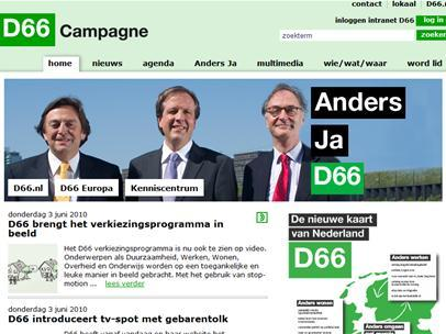 'Websites politieke partijen slecht beveiligd'