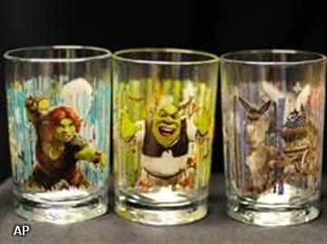 McDonald's haalt 12 miljoen Shrek-glazen terug