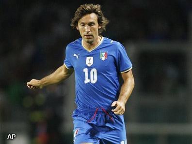 Italianen mogelijk zonder Pirlo op WK