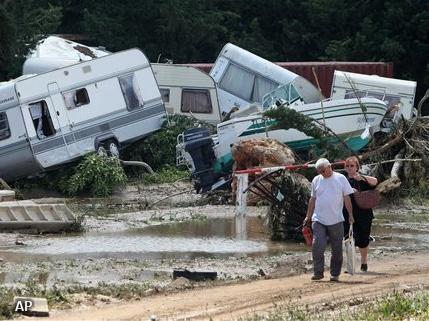 Regen bemoeilijkt hulp aan Nederlanders in Frankrijk