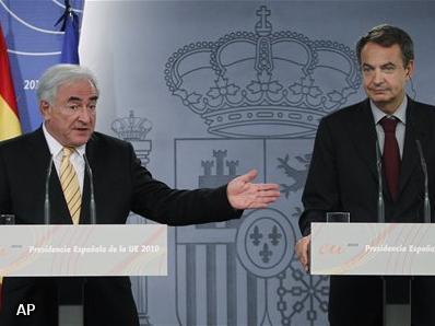 IMF-chef heeft vertrouwen in Spaanse economie