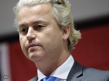 Gepasseerde Wilders is boos