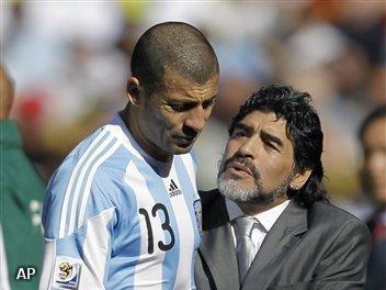 Argentijn Samuel niet fit voor Mexico