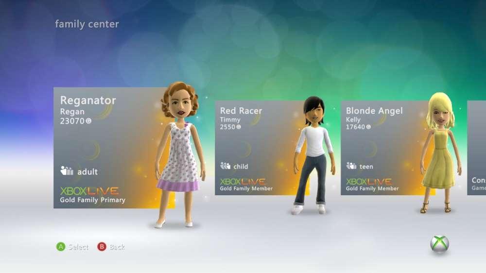 Xbox Live Gold Family Plan