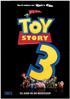 'Toy Story 3' meteen naar top bioscooplijst
