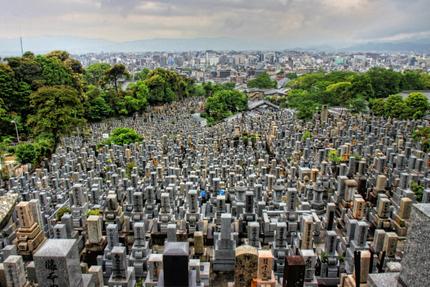 Kyoto begraafplaats