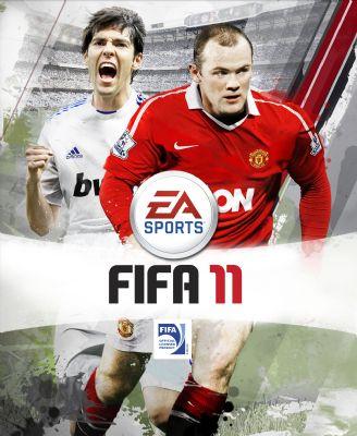 Kaka vergezelt Rooney op cover 'Fifa 11'