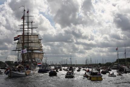 'Sail 2015 wordt grootste ooit' (Foto: Rowin van Diest)