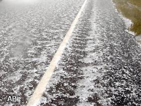 'Noodweer geeft wateroverlast in zuiden' (Foto: Novum)