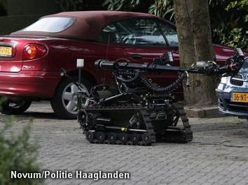 Geen explosieven in verdacht pakketje Delft