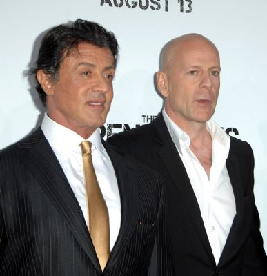 Stallone wil Willis als opperschurk Expendables 2