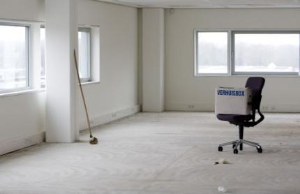 Ruim 6,5 miljoen vierkante meter kantoor leeg