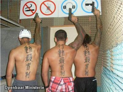 tattoos massage slavernij in Leerdam