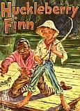 Omslag Huckleberry Finn