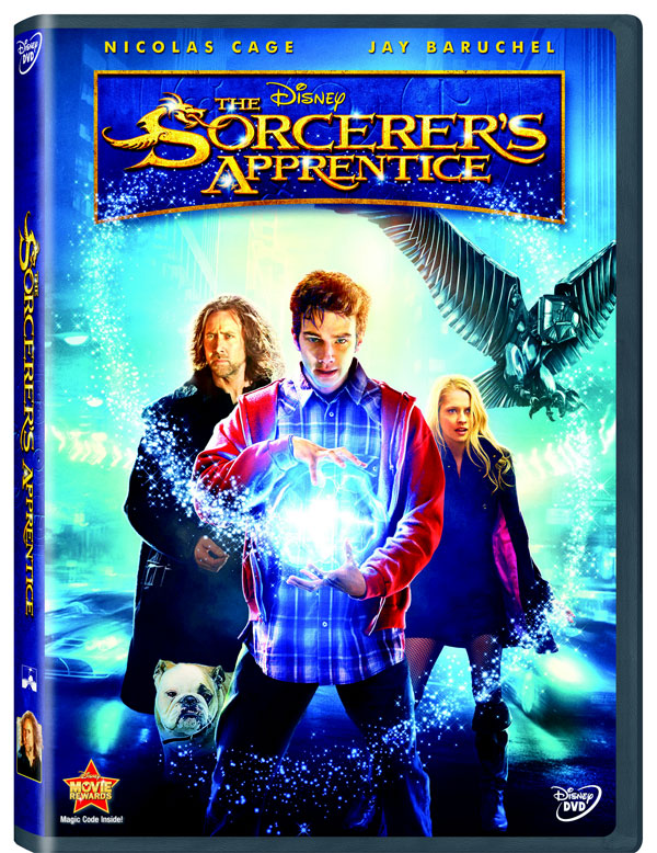 The Sorcerer's Apprentice dvd cover