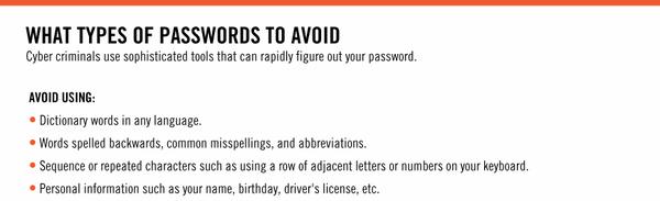 leuke wachtwoorden