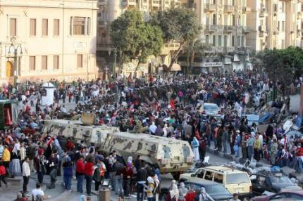 Regering Egypte blijft tot einde transitie