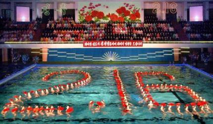 Noord-Korea viert verjaardag van Kim Jong-il