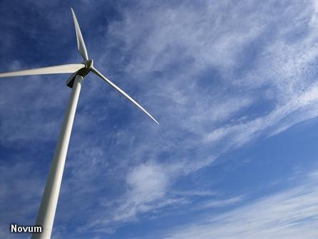Nieuw windpark op zee levert eerste stroom (Foto: Novum)
