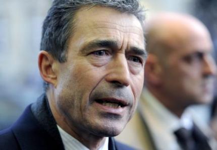 NAVO-chef twittert: spoedberaad over Libië