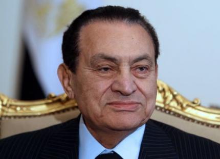 Reisverbod voor Mubarak en familie
