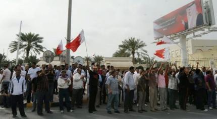 'Tanks naar Bahrein'