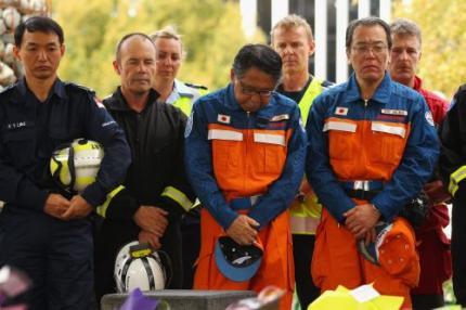 Nieuw-Zeeland herdenkt doden aardbeving