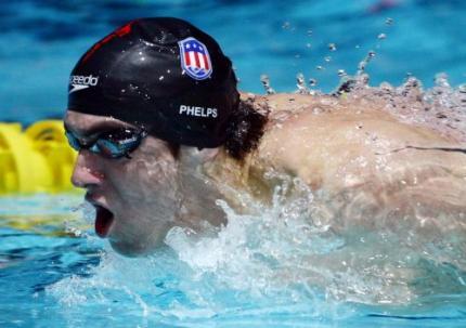 Zwemmer Phelps komt op toeren