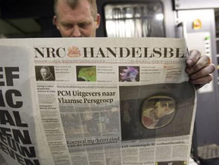 NRC Handelsblad vanaf maandag op tabloid