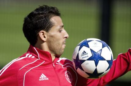 El Hamdaoui traint individueel bij Ajax