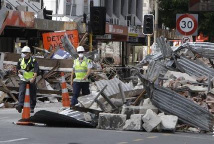 Deel stad Christchurch niet herbouwd