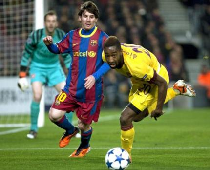 Messi Europees topschutter Barcelona
