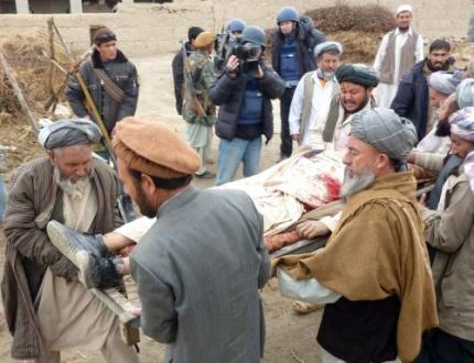 Aantal burgerdoden Afghanistan naar record