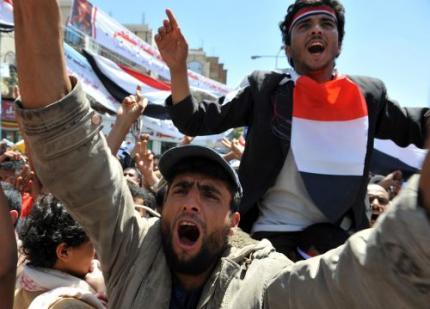 Doden door protesten in Jemen