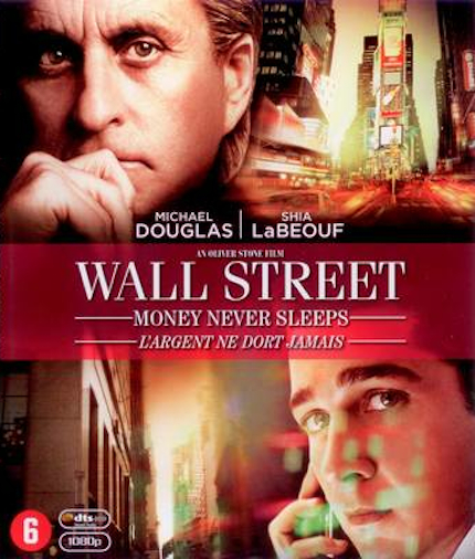 Wall Street: Money Never Sleeps dvd cover