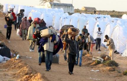 VN: 250.000 vluchtelingen uit Libië