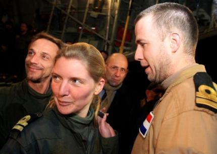 Drie militairen nog niet terug naar Nederland